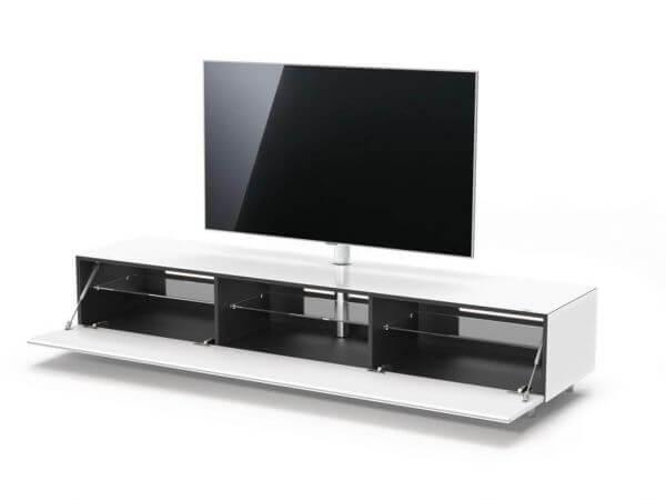Just Racks JRL2000T-SNG | Breite 200 cm TV-Möbel Weiß