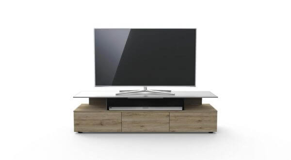 Just Racks JRM1650-NO TV-Möbel Farbe Natural Oak