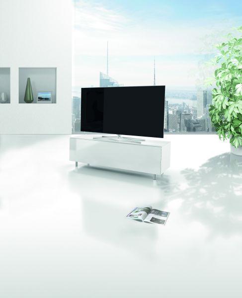 Just Racks JRL1100T-SNG TV-Möbel Weiß