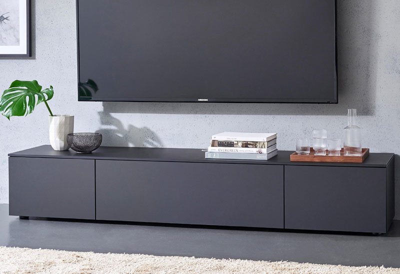 spectral next exklusiv tv lowboard 200 cm 15 0141. Black Bedroom Furniture Sets. Home Design Ideas