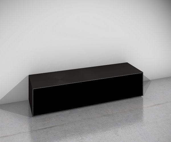 Design Objekte Monaco TV-Möbel Soundbarvariante Glas