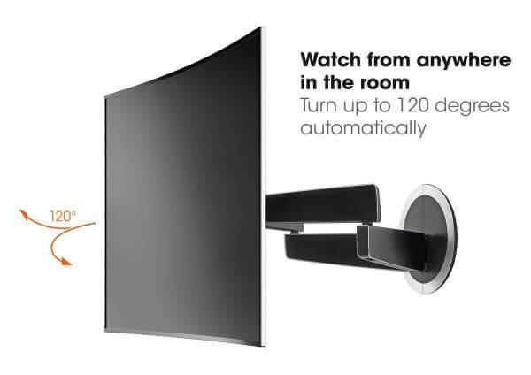 Vogel's NEXT 7355 Motion-Mount elektrisch schwenkbarer TV-Wandhalter