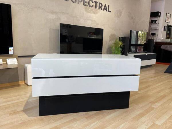 Spectral Brick BR1202 TV-Möbel Weiß Glänzend *** Ausstellungsstück ***