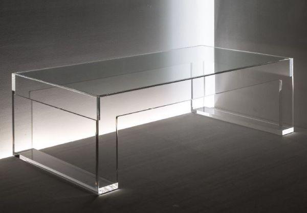 breiter TV-Beistelltisch mit Glaseinlage