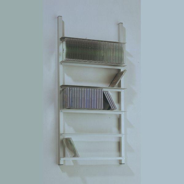 Usus Archiv 240 Aluminium DVD-Regal