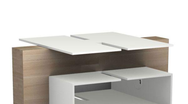 LUKE Furniture Ablageboden für HiFi-1 / HiFi-2 Plattenspieler