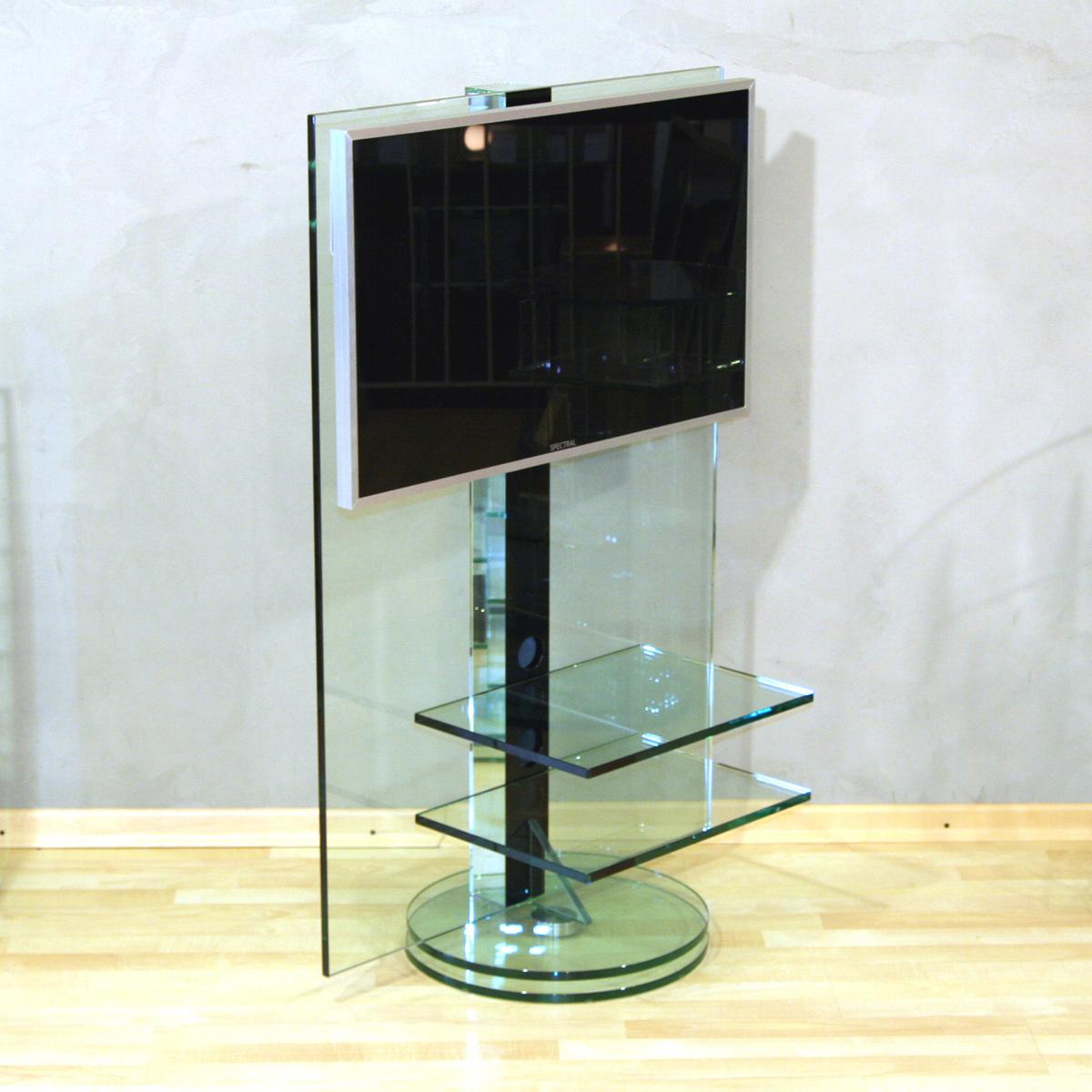 Glass Concept Fly Drehbares Tv Glasmobel