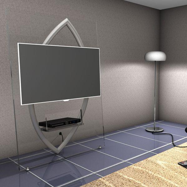 Schroers & Schroers Ellipse TV-Wand