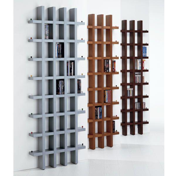 Vismara Design Box by Box 218 - CD-DVD-Wandregal