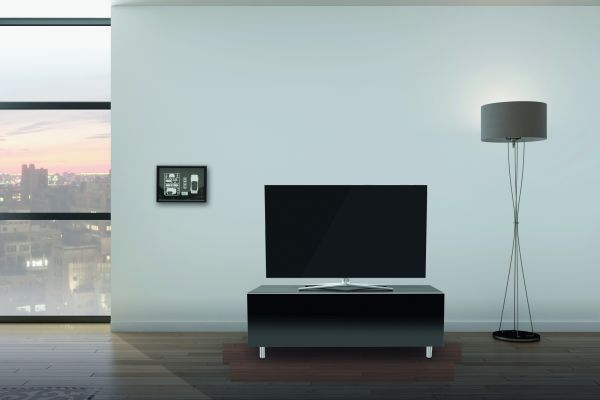 Just Racks JRL1100T-BG TV-Sideboard Schwarz mit Klappe