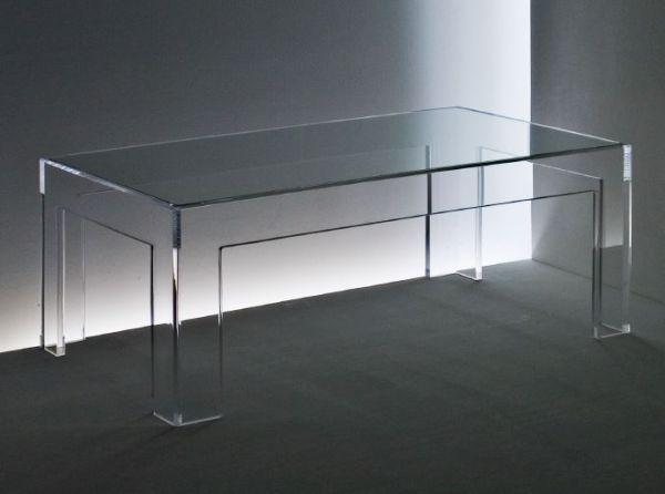 TV-Beistelltisch mit Glaseinlage
