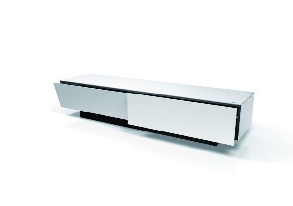 TV-Möbel Brick 24h BR2001 weiß satiniert