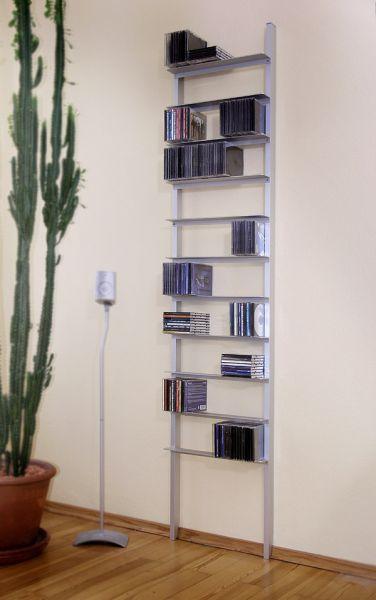 Usus Archiv 440 Aluminium CD-Regal