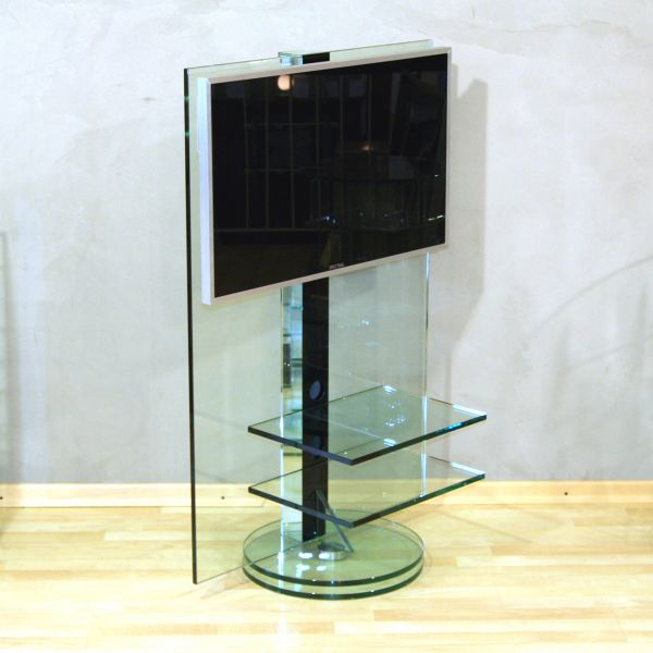 Glass Concept Fly drehbares TV-Glasmöbel