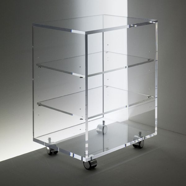 Acryl Hifi - Rollcontainer stabil