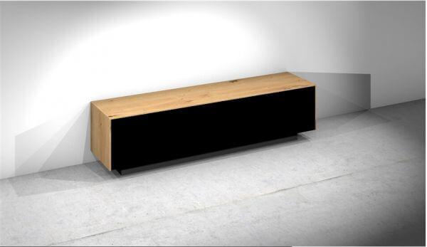 Design Objekte Monaco TV-Soundbarmöbel Echtholz