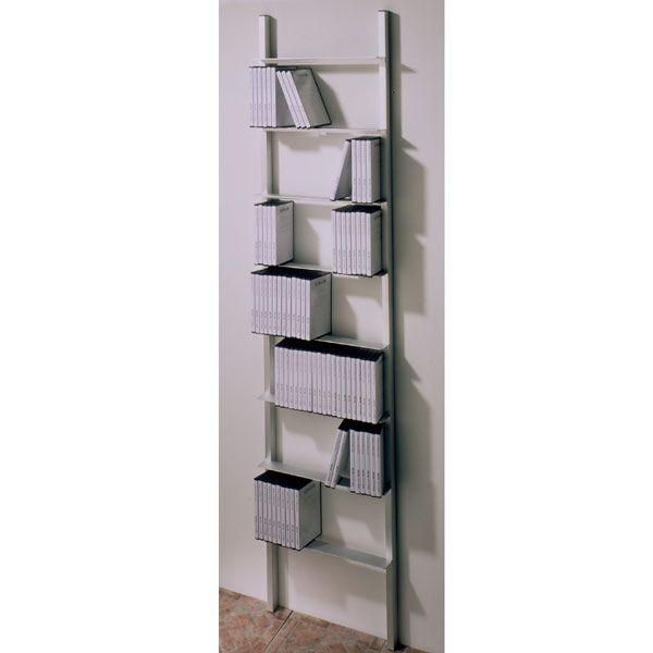 Usus Archiv 440 Aluminium DVD-Regal