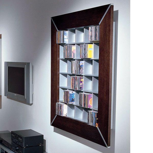Vismara Design Frame 120 - CD-DVD Wandregal