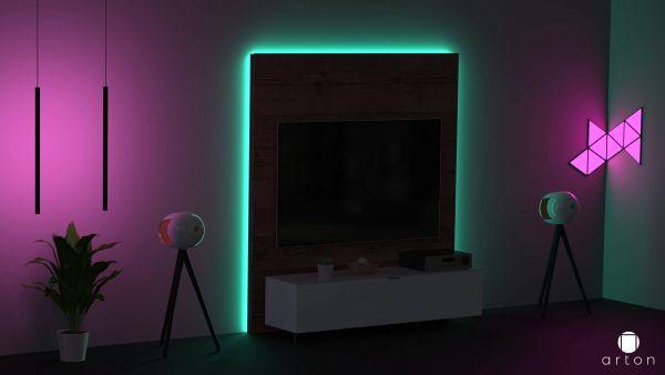 Arton Germany Ambiente Beleuchtung für TV-Paneel