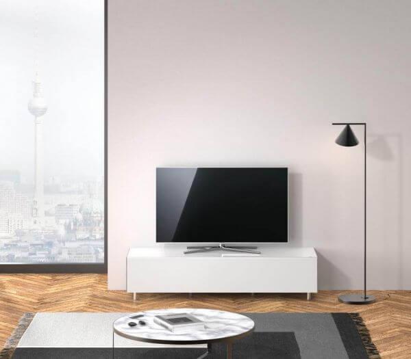 Just Racks JRL1650T-SNG TV-Sideboard Weiß